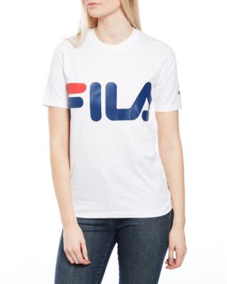 Fila Classic Logo Tee Bright White
