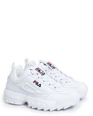 Fila Disruptor Low Wmn White