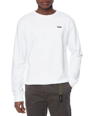 Fila Efim Crew Sweat Bright White