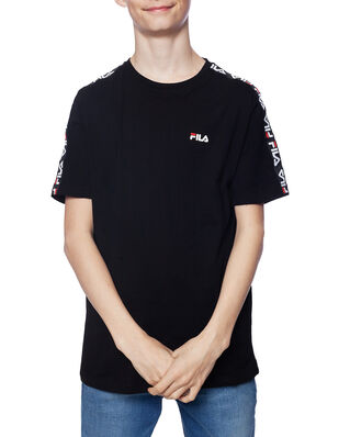 Fila Junior Kids Tait Tee Black