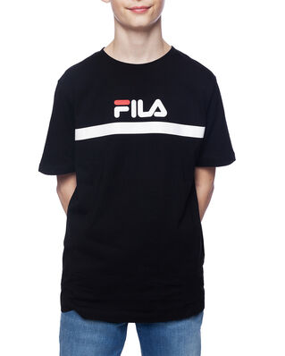Fila Junior Kids Teal Tee Black