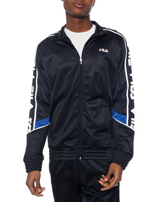 Fila Ted Track Jacket Black - Surf The Web