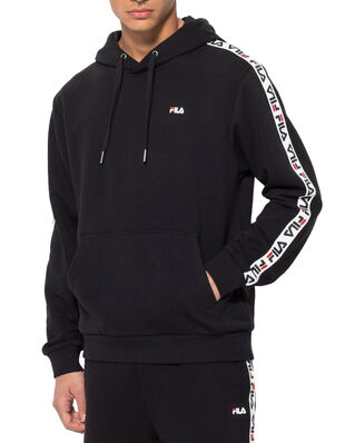 Fila Tefo Hoody Black - Bright White