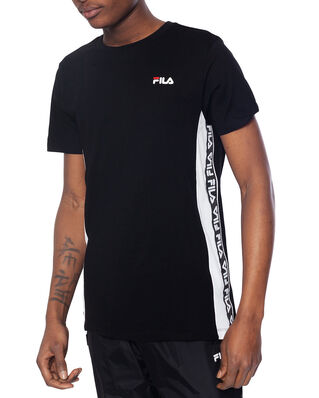 Fila Tobal Tee Black - Bright White