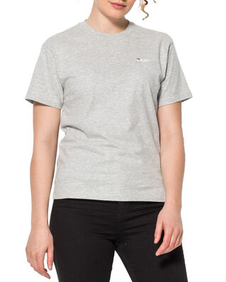 Fila Women Eara Tee Light Grey Melange Bros
