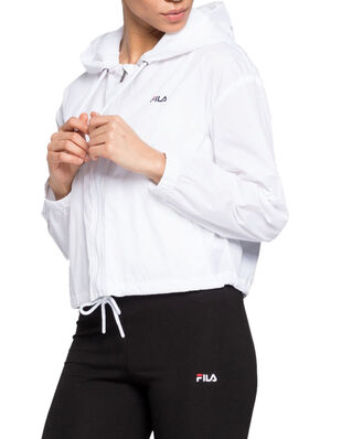 Fila Women Earlene Woven Jacket Bright White