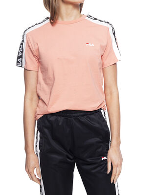 Fila Women Tandy Tee Lobster Bisque - Bright White