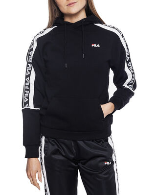 Fila Women Tavora Hoody Black - Bright White