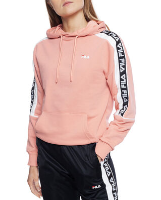 Fila Women Tavora Hoody Lobster Bisque - Bright White