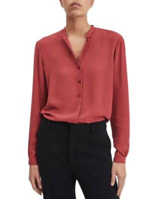 Filippa K Adele Blouse Raspberry