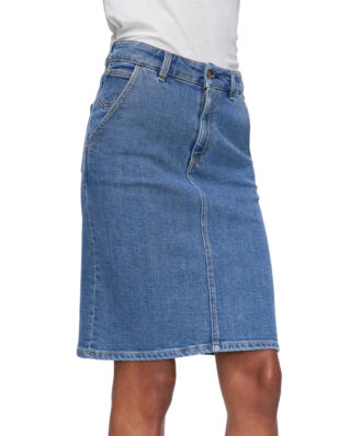 Filippa K Alicia Denim Skirt Mid Blue
