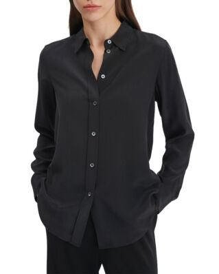 Filippa K Classic Silk Shirt Black