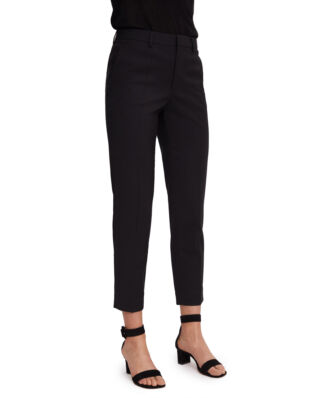 Filippa K Emma Cropped Cool wool Trouser Black
