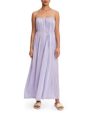 Filippa K Gathered Strap Dress Hyacinth