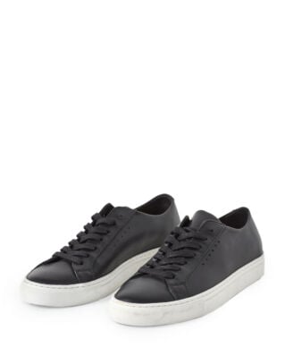 Filippa K Kate Low Sneaker Black/White