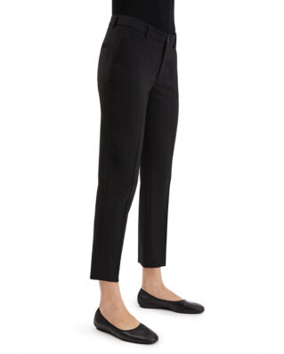 Filippa K Luisa Cropped Cool Wool Slack Black