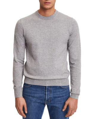 Filippa K M. Cotton Merino Basic Sweater Light Grey