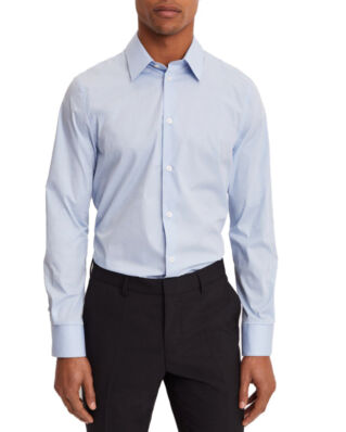 Filippa K M. James Stretch Shirt Light Blue