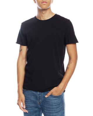 Filippa K M. Roll Neck Tee Black
