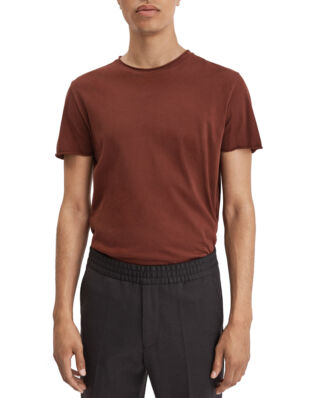Filippa K M. Roll Neck Tee Dark Ochre