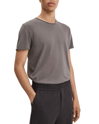 Filippa K M. Roll Neck Tee Gull Gray