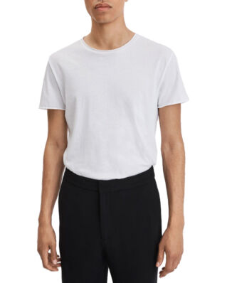 Filippa K M. Roll Neck Tee White
