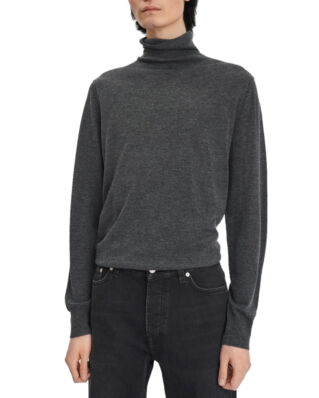 Filippa K M. Silk Mix Roller Neck Sweate Dk. Grey M