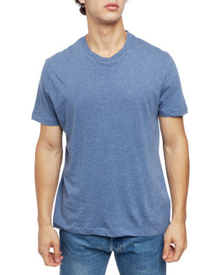 Filippa K M. Single Jersey Regular Tee Paris Blue Mel