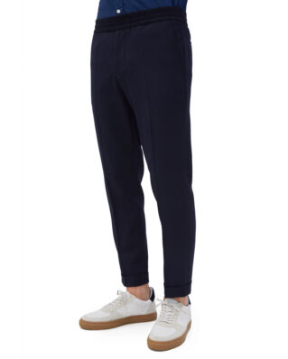 Filippa K M. Terry Cropped Trouser Navy