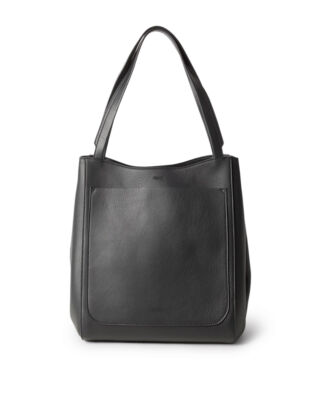 Filippa K Shelby Bucket Leather Bag Black
