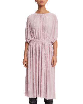 Filippa K Wave Plisse Dress Frosty Pink