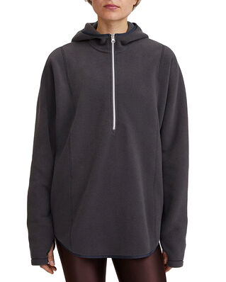 Filippa K Soft Sport Fleece Hoodie Coal
