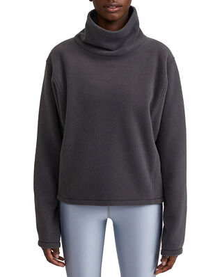 Filippa K Soft Sport Fleece Sweatshirt Coal