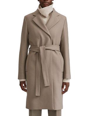 Filippa K Kaya Coat Grey Taupe