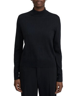 Filippa K Lynn Silk Mix Sweater Black