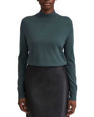 Filippa K Lynn Silk Mix Sweater Pacific Bl