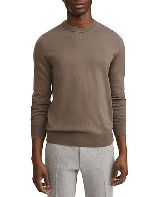 Filippa K M. Cotton Merino Sweater Dark Taupe