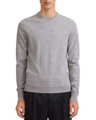 Filippa K M. Cotton Merino Sweater Light Grey