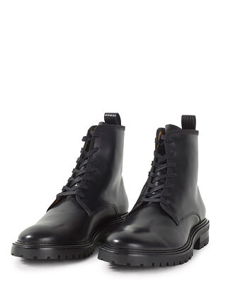 Filippa K M. John Lace Up Boot Black