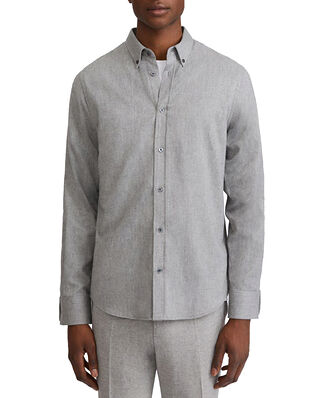 Filippa K M. Lewis Flannel Shirt Grey Melan