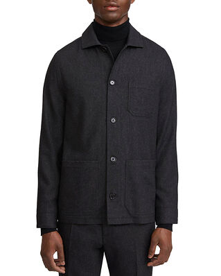Filippa K M. Louis Flannel Jacket Dark Grey