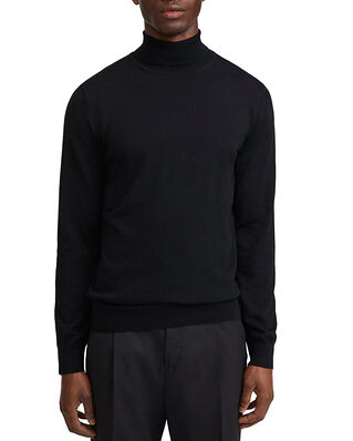 Filippa K M. Merino Roller Neck Sweater Black