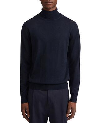 Filippa K M. Merino Roller Neck Sweater Navy