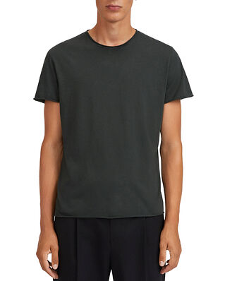 Filippa K M. Roll Neck Tee Dark Spruc