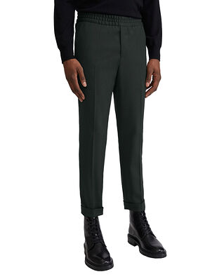 Filippa K M. Terry Cropped Trouser Dark Spruc