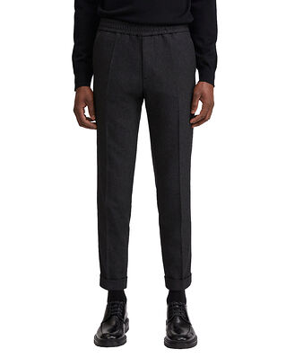 Filippa K M. Terry Flannel Trouser Dark Grey