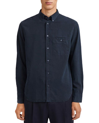 Filippa K M. Zachary Tencel Shirt Navy
