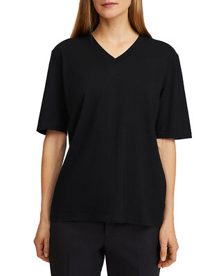 Filippa K Matilda V-neck Tee Black