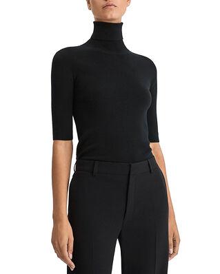 Filippa K Merino Elbow Sleeve Top Black