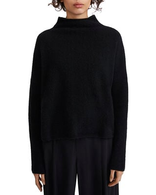 Filippa K Mika Yak Funnelneck Sweater Black